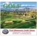 Personalized Golf Wall Calendars - 2021