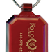 Personalized Gem Cut Keytags