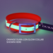 "Dura-Lon Glow Dog Collar, Standard, Orange, 1"" Wide"