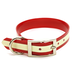"Dura-Lon Glow Dog Collar, Standard, Red, 1"" Wide"