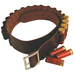Leather Shell Belt, 12 Gauge