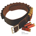 Leather Shell Belt, 20 Gauge