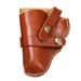 Leather Snap Off Belt Holster, Size 7, Left Handed