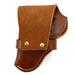 Leather Snap Off Belt Holster, Size 29, Left Handed