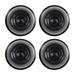 Power Wheels .437 Push Nut Wheel Retainer Cap 4 Pack