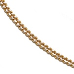 14k Gold Curb Light 18 inch Chain