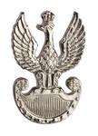 14k White Gold Pilsudski Legions Eagle Pendant
