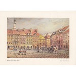 Adamczyks Greeting Card - Warsaws Old Town Market