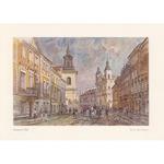 Adamczyks Greeting Card - Warsaws Freta Street