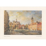 Adamczyks Greeting Card - Warsaws Castle Square