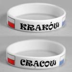 Adult's Rubber Bracelet - Krakow / Cracow