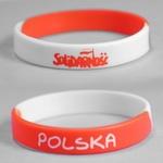 Adult's Rubber Bracelet - Solidarnosc & Polska