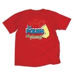 Be Polish Eat Pierogi Cotton Red T-Shirt