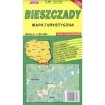 Bieszczady Mountains Map