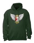 Biker Eagle - Adult Sweatshirt Hoodie