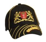 Black Baseball Cap - GDANSK City Arms