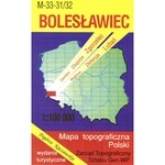 Boleslawiec Region Map