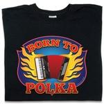 Born to Polka - Adult Long Sleeve Tee