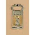 Bottle Opener Magnet - Warsaw, Mermaid