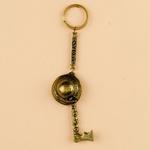 Brass Keychain - ZAKOPANE, Hat & Ciupaga