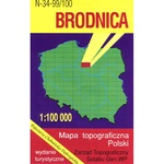 Brodnica Region Map