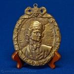 Bronze Plaque - Tadeusz Kosciuszko Bust Image