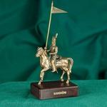 Bronze Sculpture - Lancer on Horse