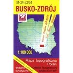 Busko-Zdroj Region Map