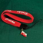Cell Phone Strap - POLSKA / POLAND with Flag