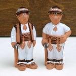 Ceramic Highlanders, Set of 2