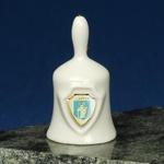 Ceramic Mini Hand Bell - OLSZTYN Shield