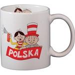 Ceramic Mug - Bolek & Lolek POLSKA 10oz