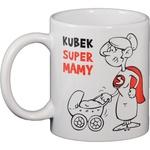 Ceramic Polish Funny Mug - Super Mama (Mom)