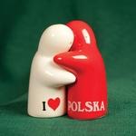 Ceramic Salt & Pepper Set - I Love PL