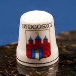 Ceramic Thimble - Bydgoszcz City Crest