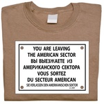 Checkpoint Charlie - Adult T-Shirt