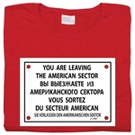 Checkpoint Charlie - Women's T-Shirt