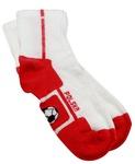 Children's Socks - White & Red Polska Soccer