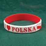 Child's Rubber Bracelet - I Love PL
