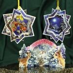 Christmas 3D Card Ornaments - Mix (A) - Set of 3