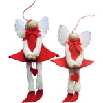 Christmas Ornaments - Pair of Angels
