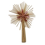 Christmas Straw Star Tree Topper Style # A