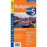 City Plus Maps - BYDGOSZCZ plus 5 other cities