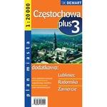 City Plus Maps - CZESTOCHOWA plus 3 other cities