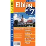 City Plus Maps - ELBLAG plus 7 other cities