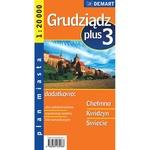 City Plus Maps - GRUDZIADZ plus 3 other cities