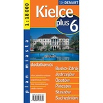 City Plus Maps - KIELCE plus 6 other cities