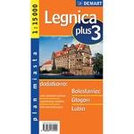 City Plus Maps - LEGNICA plus 3 other cities