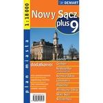 City Plus Maps - NOWY SACZ plus 9 other cities