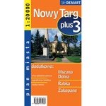 City Plus Maps - NOWY TARG plus 3 other cities